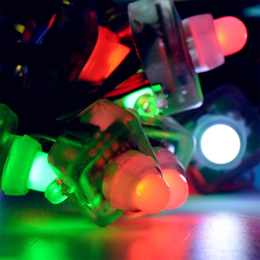Image 5 - 50pcs T1515 WS2811 Full Color RGB Pixel LED Module Light String DC Cystal 12V/5V IP68 12mm Waterproof-in LED Strips from Lights & Lighting