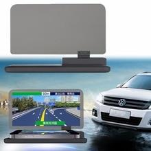 """Авто Телефон Кронштейн Plasitc H6 6 """"Экран Автомобилей HUD Head Up Display Проектор Телефон Навигации GPS Держатель"""
