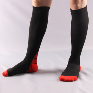 Image 5 - 6pair/lot Men and women Compression Socks gradient Pressure Circulation Anti Fatigu Knee High Orthopedic Support Stocking