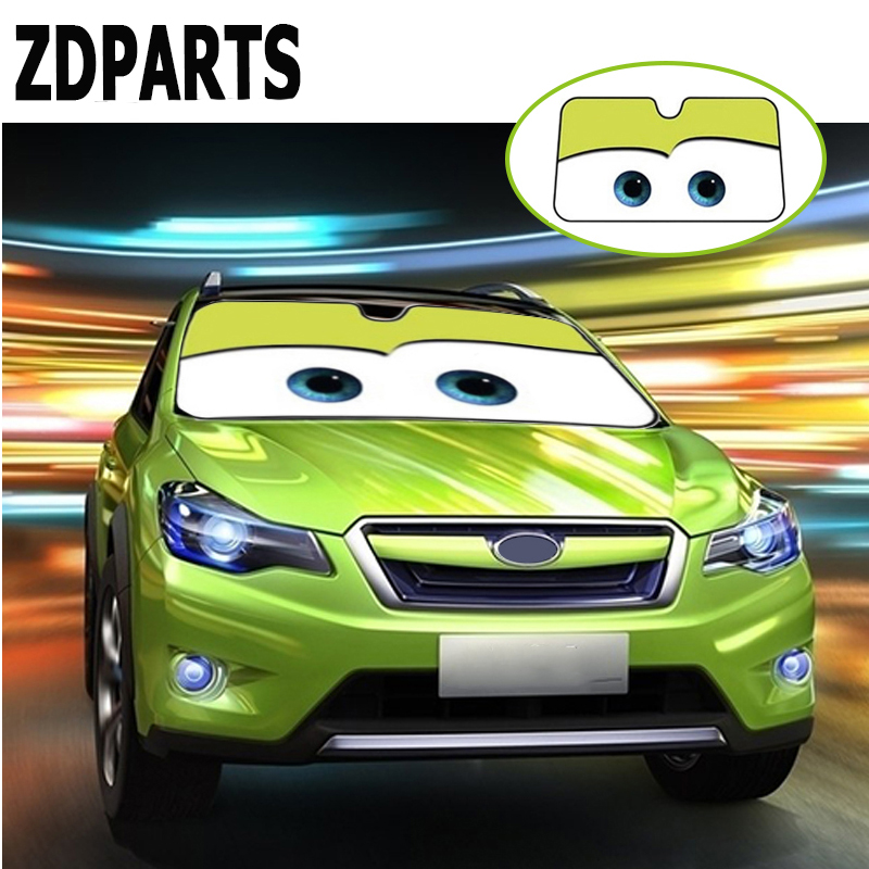 ZDPARTS 6color Car Styling Sunshade Windscreen Covers Sticker For Suzuki Grand Vitara Swift SX4 Mitsubishi ASX Audi A 4 Fiat 500 фаркоп suzuki sx4 fiat sedici 06