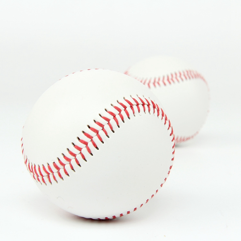 White Base Ball Baseball Practice Training PVC Softball Hardball Hand Sewing Sport Team Game 9 inches 7.3cm