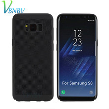 Hollow Heat Dissipation Phone Case for Samsung Galaxy A3 A5 A7 2017 A6 A8 Plus 2018 S6 S7 Edge S8 S9 S10 Plus Note 8 9 cover(China)