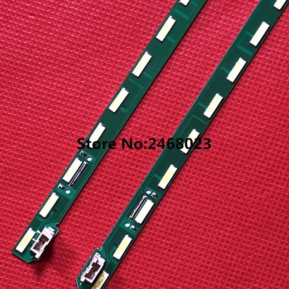 New 2pcs/lot 46LED 537mm LED Backlight Strip 49Inch FHD R L Type For LG 49LF5400 G1GAN01-0791A G1GAN01-0792A MAK63267301
