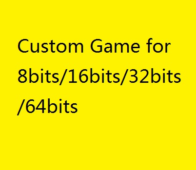 Custom Game link with 8GB for 8bits/16bits/32bits/64bits