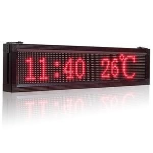 Image 4 - P10 наружный водонепроницаемый RGB полноцветный светодиодный дисплей бренда Wifi + USB Программируемый прокручивающийся информационный SMD СВЕТОДИОДНЫЙ знак
