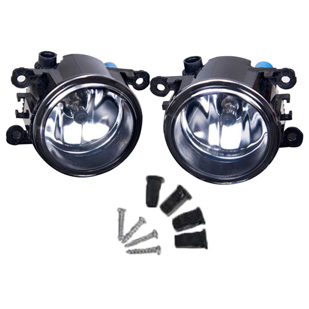 1 Pair Front Bumper Angel Eyes LED Fog Light For Opel Meriva A 2006-2010 High Brightness Halogen Fog Lamp Lights Car Accessories