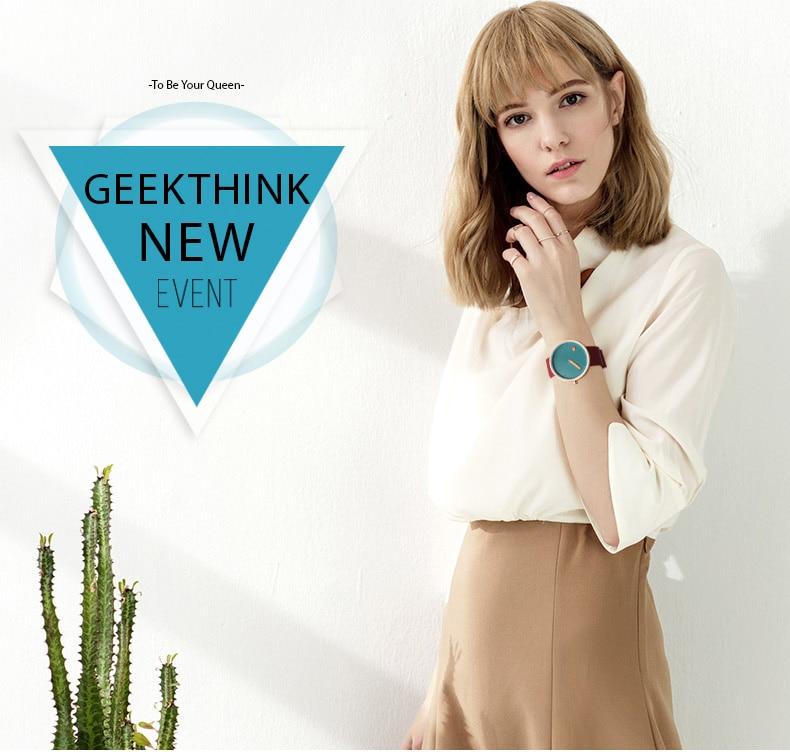 Luxury Designer Brand Quartz Watch Women Leather Casual Ladies Simple Wrist watch Girl Clock Female Creative Gift  relogio 4