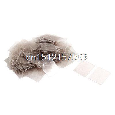 200pcs 20mm x 25cm x 0.09mm Mica Paper Sheets Insulator 20 200