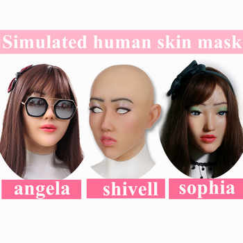 Artificial Human Skin Face Realistic Silicone breast forms Crossdresser Transgender Cosplay Disfigurement Repair Disguise Self - Category 🛒 All Category