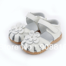 2019 new genuine leather girls sandals in summer walker shoes