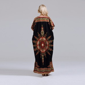 Image 5 - Dashikiage חדש הגעה נשים של 100% כותנה אפריקאי הדפסת דאשיקי מדהים אלגנטי אפריקאי גבירותיי שמלה