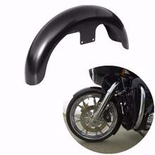 Motorcycle 21 Wrap 5.5 Front Fender For Harley Bagger Touring Electra Glide Street Road Glide Road King Painted Black 23 unpaited front fender for harley wheel bagger touring street glide road flhx motorcycle
