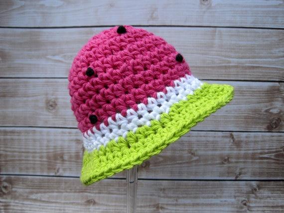 Horgolt baba sapka, újszülött kalap, csecsemő kalap, baba lány - Bébi ruházat - Fénykép 5