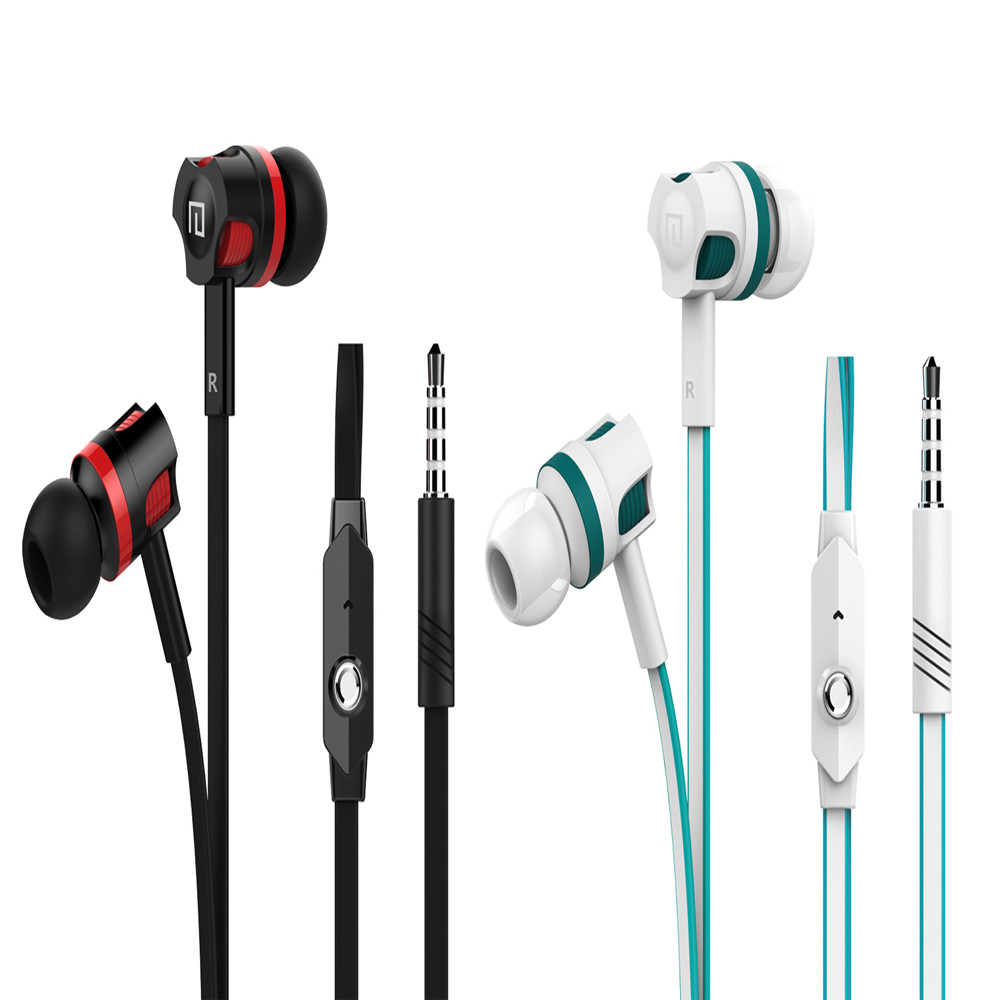 Malloom 2017 3.5mm auriculares Stereo Earbuds Noice Canceling Sport Earphone Gaming Headset gamer Handsfree Telefon kulaklik