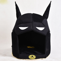 Batman Dog House Pet Dog Bed Cat Bed Cat House For Small Medium Dogs Warm Pet Puppy Bed Chihuahua Totoro Bed Dog Mat Cat Kennel