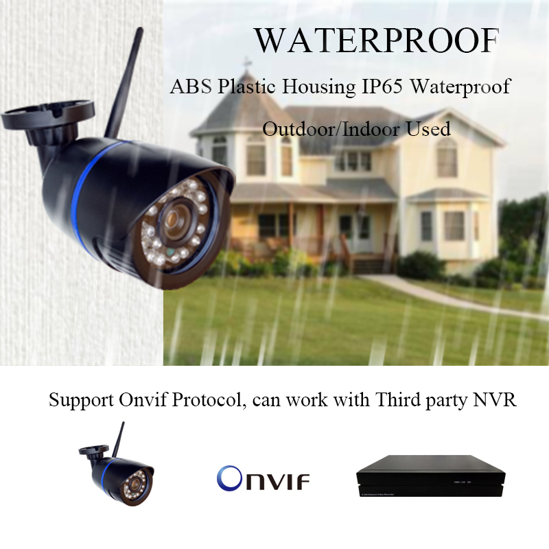 Image 2 - HD 1080P IP Camera Outdoor WiFi Home Security Camera 720P 2MP Wireless Surveillance Wi Fi SD TF Waterproof IP Onvif Camara Cam-in Surveillance Cameras from Security & Protection