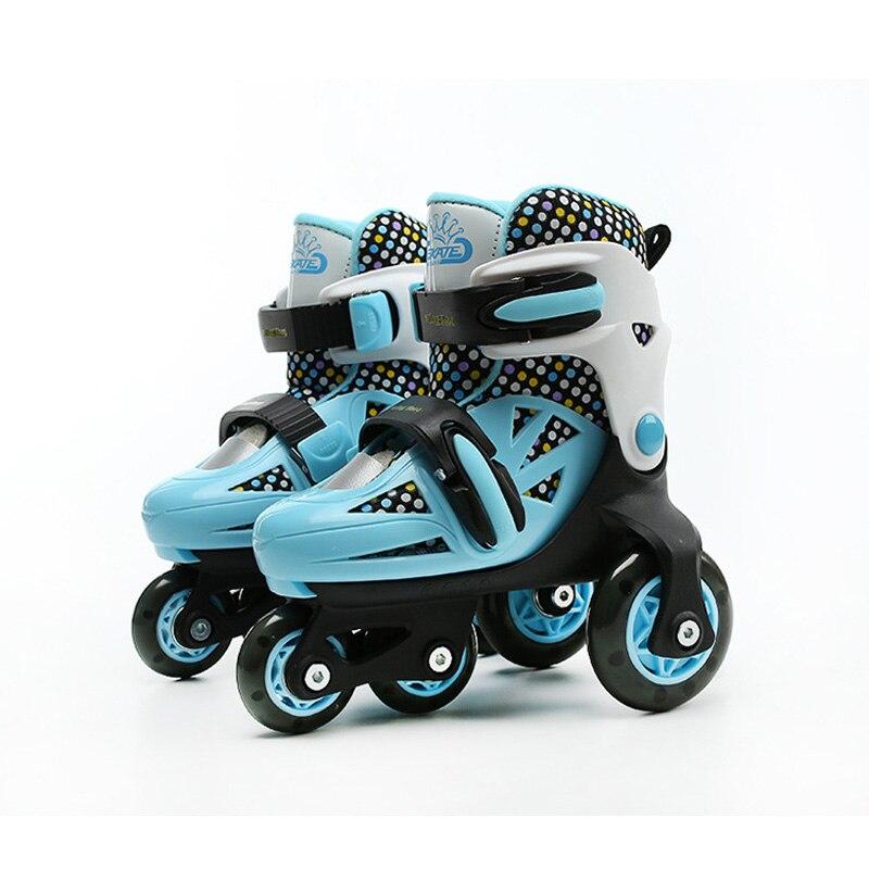 Kinderen/Volwassen Pro Rolschaatsen schoenen grote wielen veiligheid schaatsen schoenen Skate Roller Schoenen Ademend en Wearable kwaliteit - 6