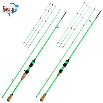 RoseWood Natural Force Series 2.1m High Carbon Cloth Fishing Rod 3 Tips L ML Medium Spinning Rod Casting Lure Rod 2 Sections - DISCOUNT ITEM  23% OFF Sports & Entertainment