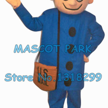 Mr zip traje del cartero fábrica recién personalizado envío gratis  mensajero expressman tema carnaval disfraces 2893 4369bffdfae