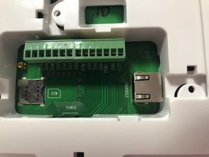 Image 3 - Anglais ou Français langage texto Menu RJ45 Ethernet TCP IP Système Dalarme GSM Avec 32 zones sans fil Et 8 zones filaires Système Dalarme