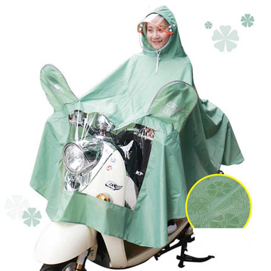 Мотоциклетный костюм пончо Для женщин наружная водонепроницаемая крышка дождевик костюм с жакетом Шестерни Chuvasquero Mujer пончо Feminino 5R154