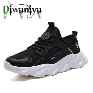 Image 4 - Diwaniya מותג באיכות גבוהה הליכה נעלי Sneaker זכר של חיצוני חדש רשת לנשימה גברים עבור רך ספורט אתלטי ריצה