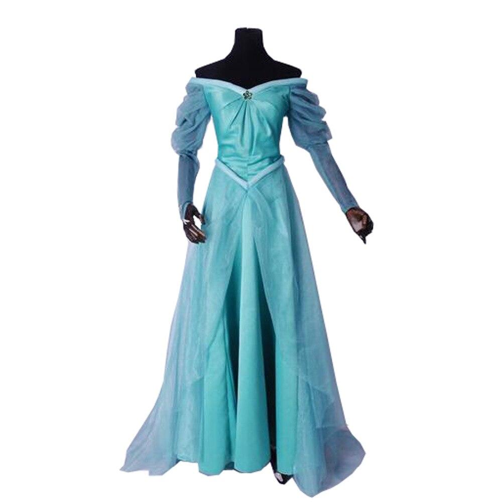 2017 Princess Ariel Cosplay Costume The Little Mermaid Ariel Cosplay Dress
