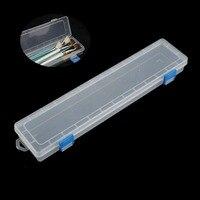 1 pc 브러쉬 페인팅 연필 보관 상자 수채화 물감 펜 컨테이너 드로잉