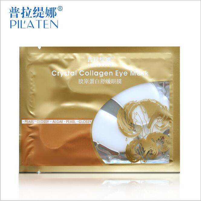 100packs/lot Pilaten collagen eye mask Anti-Aging Dark Circle Moisturizing Collagen eye patches Eye care Mask