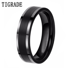 6MM High Polished Ring Engagement Tungsten Carbide Fashion Gift Free Shipping