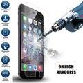 10 unids/lote mejor precio templado protector de pantalla para el iphone 5 5S 5C borde 2.5D arco 0.3 mm espesor 9 H envío gratis