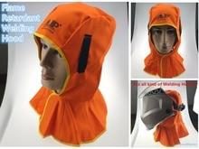 Washable FR Cotton Hood Full Protective Welding Hood Flame Retardant Welder Cap Fits All Kinds of Welding Helmet