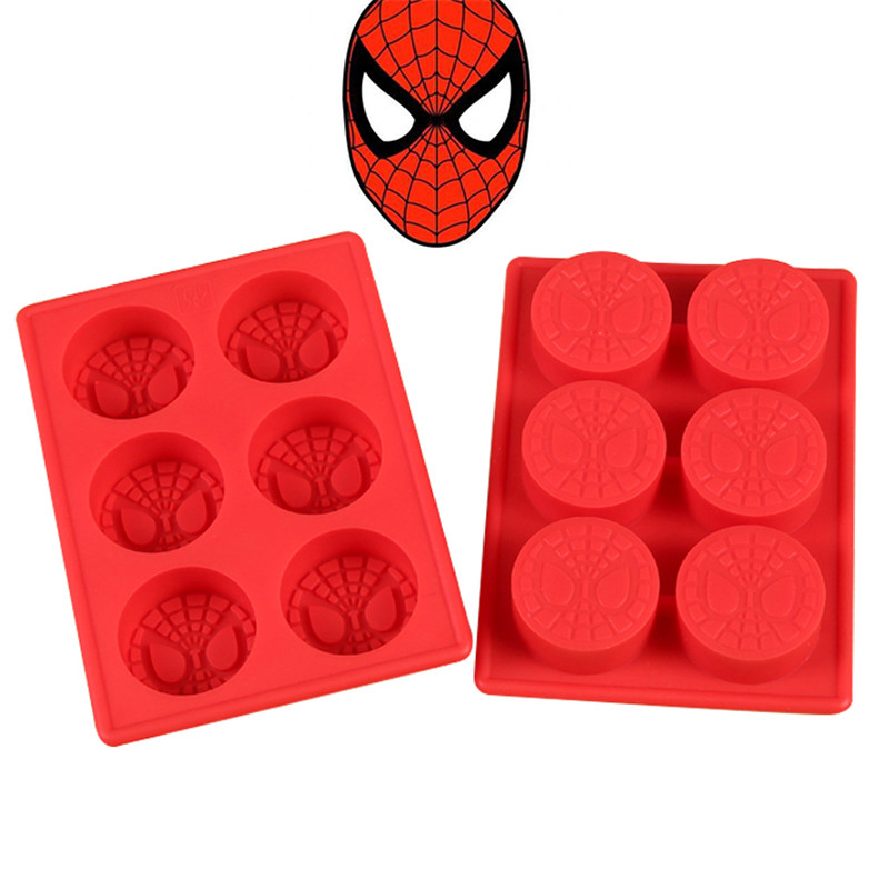 3 Unids Lote Para Hornear Decoracion Spiderman Superman Batman