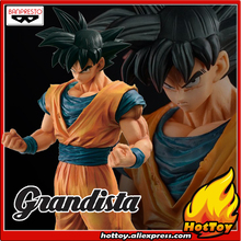 цена на 100% Original Banpresto ROS Resolution of Soldiers Grandista Collection Figure - Son Goku Gokou