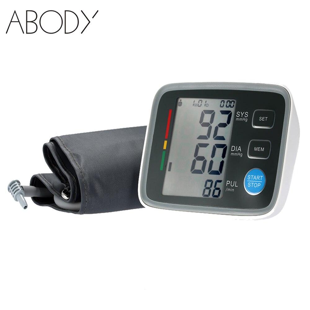 Полностью Автоматический Цифровой Монитор Артериального Давления Про Верхнюю Манжету Тонометр Прибор Для Измерения Кровяного Давления Сфигмоманометр Монитор Сердечного ритма