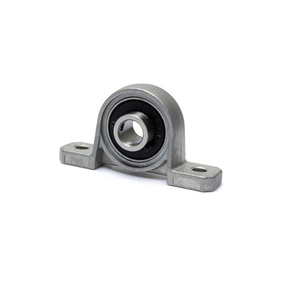 10pcs Zinc Alloy Diameter 8mm Bore Ball Bearing Pillow Block Mounted Support Caliber KP08 KP000 KP001 KP002 KP003 KFL08 KFL000