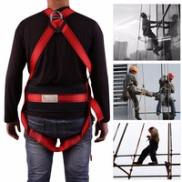 Leshp 5 in 1 Outdoor Safe Technical Rock Climbing Mountaineering Downhill safety Harness Rappel Rescue Safety Belt Kit