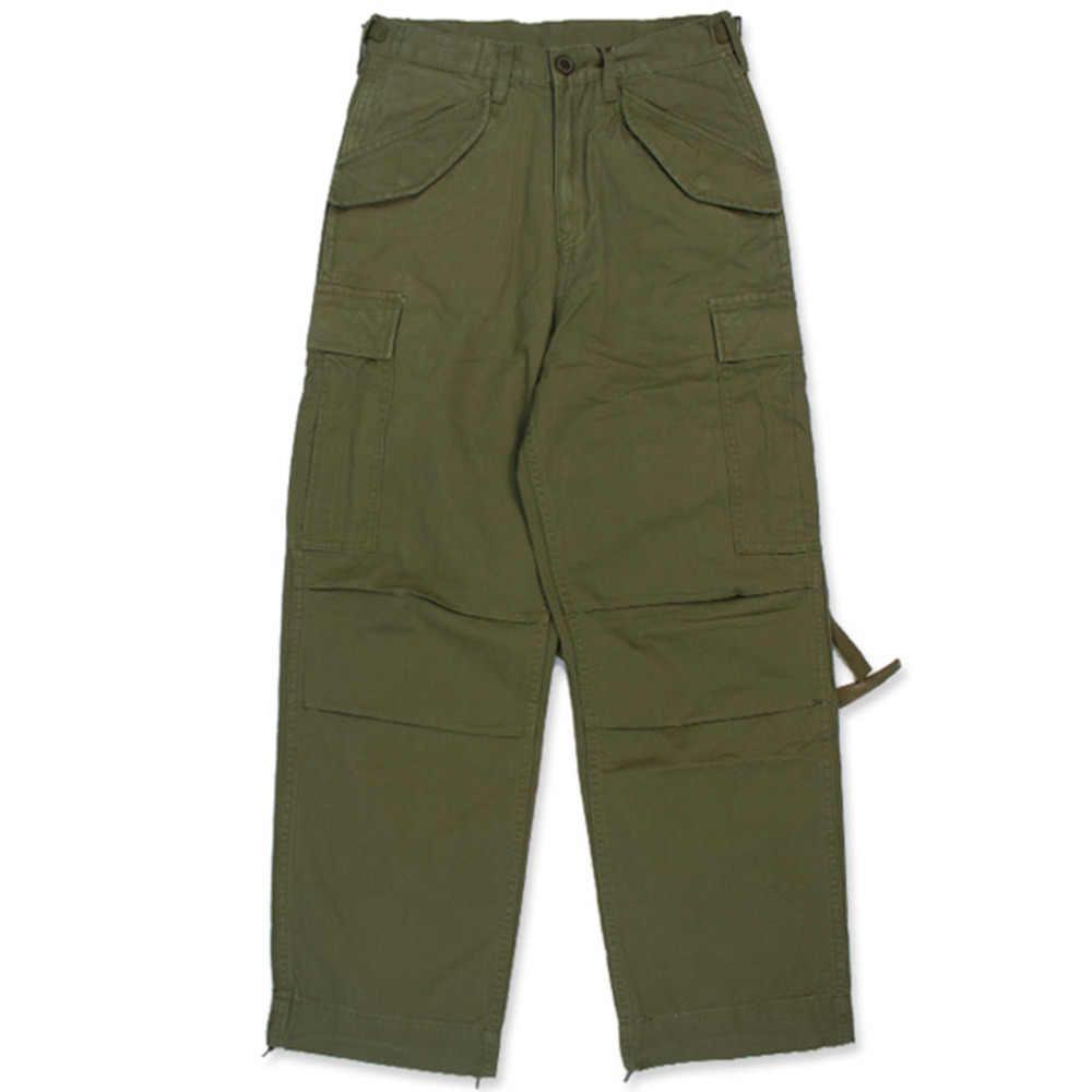 64a72072 NON STOCK M51 Multi Pocket Military Combat Pants Loose Wide Leg Cargo Pants  Men Tactical Army
