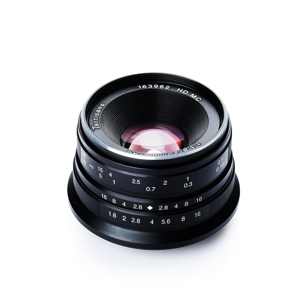 купить 7artisans 25mm F/1.8 HD MC Manual Focus Wide Angle Lens for Fujifilm FX Camera X-T10 X-T2 X-PRO2 X-PRO1 X-E2 X-E1 X-M1 X-A3 по цене 5439.12 рублей