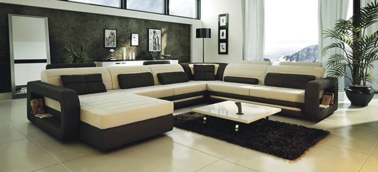 Modern Furniture Sofa Set Leather Sofa Sectional Sofa Home Furniture
