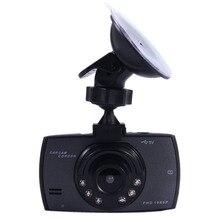 Nueva Pantalla LCD HD 1080 P 2.4 Pulgadas Coche de la Rociada Leva Video Recorder DVR Cámara de Visión Nocturna del Tacógrafo g-sensor Función de Envío gratis