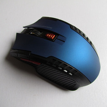 Colorful Wireless Optical Gaming Mouse with USB Receiver