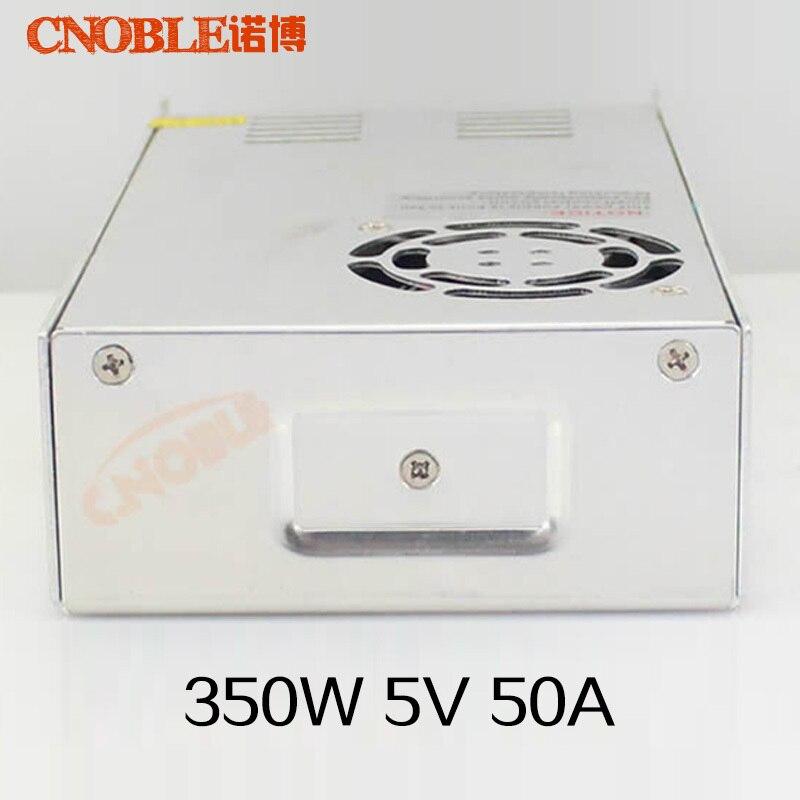 350 Вт 5 В 50A один Выход импульсный источник питания для Светодиодные ленты света переменного тока в DC