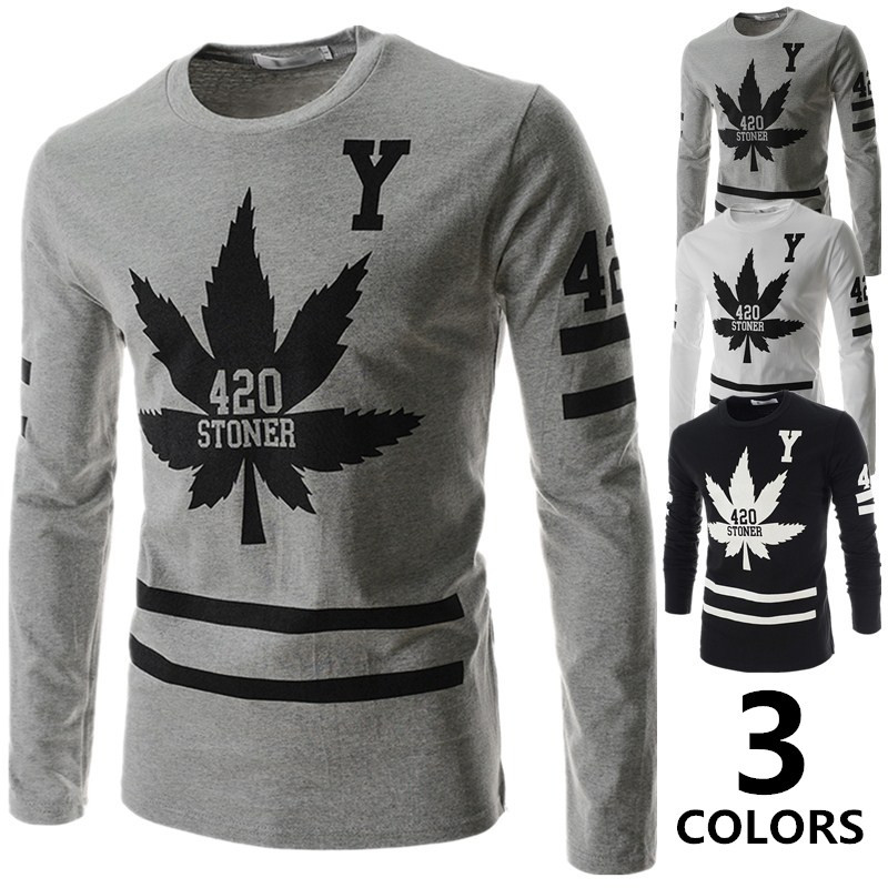 Printed Long Sleeve T Shirts