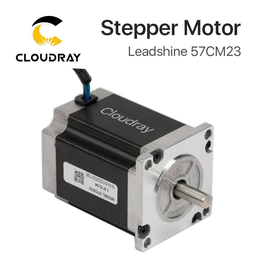 Leadshine 2 phase Stepper Motor 57CM23 for NEMA23 5A Length 76mm Shaft 8mm leadshine ha335 2 phase stepper motor drives 30vdc 3 5a