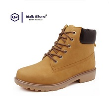 2016 Autumn Winter Plus Size Brand Men Shoes Martin Boots Suede Leather Warm Snow Boots Outdoor Casual Timber Boots Botas Hombre