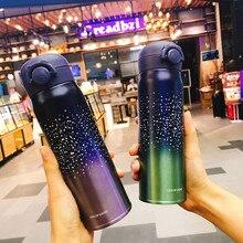 Mug Travel Water-Bottle Vacuum Flask Starry Portable 304-Stainless-Steel 350ml/500ml