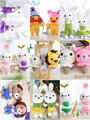 Handmade Material package Knitting wool Plush unfinished toy crochet Pendants lantern with weaving tools