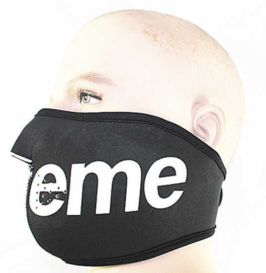 huge selection of f5a65 5c7f6 SUPREME mask Men s black windproof half face mask Cycling protective face  mask C 06288-in Cycling Face Mask from Sports   Entertainment on  Aliexpress.com ...