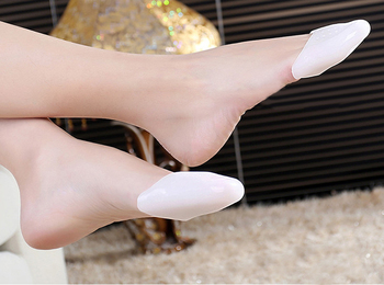 2 Pairs Ballet Pointe Dance Shoe Pads Cushions Toe Cap Cover Gel Protector